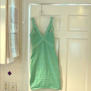 Wow Couture green part/ night out dress